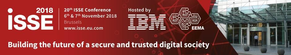 ISSE Conference Banner IBM Brussels 2018