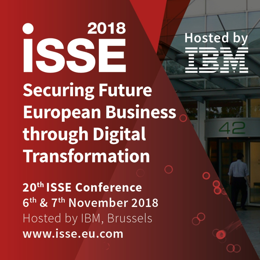 Cryptomathic Announced as Silver Sponsor for ISSE 2018 – Securing Future European Business through Digital Transformation 6th and 7th November 2018; Brussels,Belgium